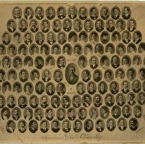 Image of 1975.71 - American School of Osteopathy graduates composite photo