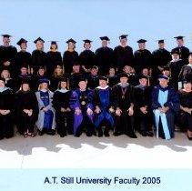 Image of 2012.01 - A.T. Still University Mesa, Arizona faculty group photo