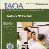 Image of 2012.97 - Journal of the American Osteopathic Association Vol 111, No. 11