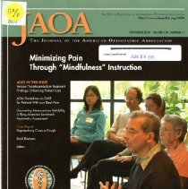 Image of 2012.97 - Journal of the American Osteopathic Association Vol 110, No. 11