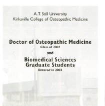 Image of 2012.01 - Kirksville College of Osteopathic Medicine graduates photo program