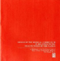 Image of 2012.101 - Design of the Medical Curriculum in Relation to Health Needs of the Nation