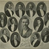 Image of 1982.727 - American School of Osteopathy faculty composite photograph