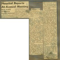 Image of 2004.78 - Hospital Reports at Annual Meeting