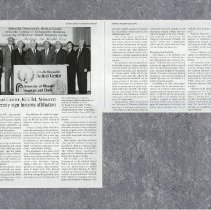 Image of Kirksville Magazine article 1994