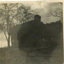 Image of 1984.978 - Still Cabin and trees in original Jonesville, Virginia location