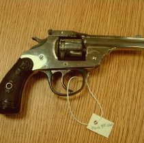 Image of 2010.58 - Iver Johnson Safety Hammer Double Action Revolver