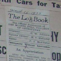 Image of 2004.267 - The Log Book