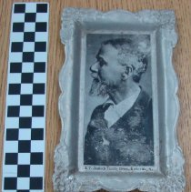 Image of 2007.08 - Pin tray with image of Andrew Taylor Still