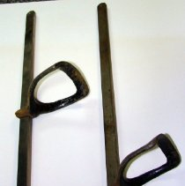 Image of 2013.01 - Stirrups for McManis Table