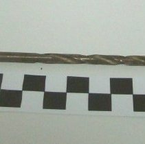 Image of 1983.800 - Short twisted woodworking drill bit