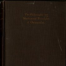 Image of 1980.400 - Philosophy and Mechanical Principles of Osteopathy