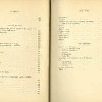Image of Pages 4 & 5 of table of contents of Osteopathy Research Practice 1910