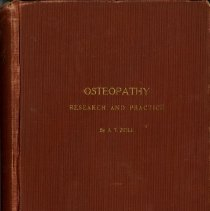 Image of Osteopathy Research and Practice front cover 1910