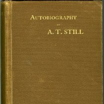 Image of 1997.42 - Autobiography of Andrew T. Still