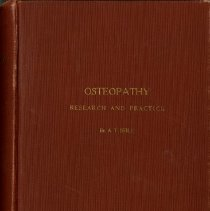 Image of 2013.01 - Osteopathy Research and Practice