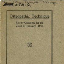 Image of 2010.02 - Osteopathic Technique