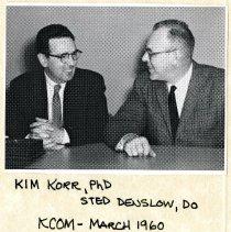 "Image of Irvin ""Kim"" Korr and John Stedman Denslow"
