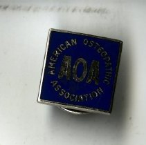 Image of 1997.04 - American Osteopathic Association Tie Tack