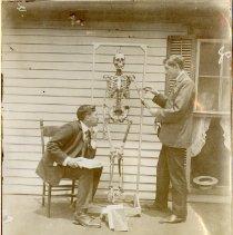 Image of 2012.95 - Herbert Gamble and James Brake with Skeleton