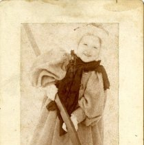 Image of 2013.22 - Unidentified Young Girl