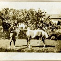 Image of 2012.95 - Young Male with a Horse