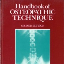 Image of 2013.19 - Handbook of Osteopathic Technique