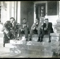 Image of 2013.27 - Howard Freeman and Friends on Porch