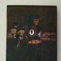 Image of 2013.27 - Howard Freeman in ASO Baseball Uniform Print Block