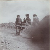 Image of 2013.21 - Woman Being Carried to View Matterhorn