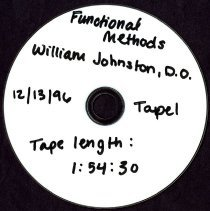 Image of 2013.40 - Functional Methods with William Johnston