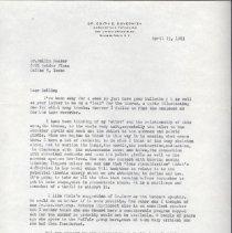 Image of 2013.37 - Correspondence from Edith E. Dovesmith to Rollin E. Becker