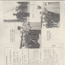 Image of 2013.21 - Page 45 of the Alice's Travels Scrapbook