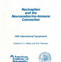 Image of 2011.69 - Nociception and the Neuroendocrine-Immune Connection