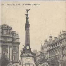 Image of 2013.21 - Anspach Monument Postcard