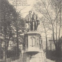 Image of 2013.21 - Fountain of Count Egmont and Count Hornes Postcard