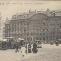 Image of 2013.21 - Grand 'Place Postcard