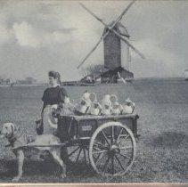 Image of 2013.21 - Flemish Milkmaid Postcard
