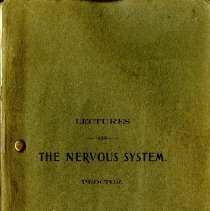 Image of 2013.72 - Lectures on the Nervous System