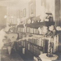 Image of 2013.21 - Alice in the Library of her Ontario Apartment