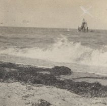 Image of 2013.21 - View of the Sea Shore on Nantucket Island