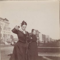 Image of Aunt Dora Patterson & Mrs. Campbell