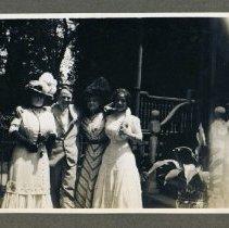 Image of 2014.06 - John Tuttle with Three Women
