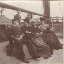 Image of 2013.21 - Captain Stephens, Alice Patterson with Al and Nettie Boyles