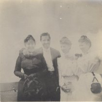 Image of 2013.21 - Alice Patterson, Elmer and Phoebe Gates and Unidentified Woman