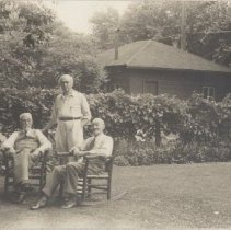 Image of 2013.21 - Edgar, James and William Nethercut in Evanston