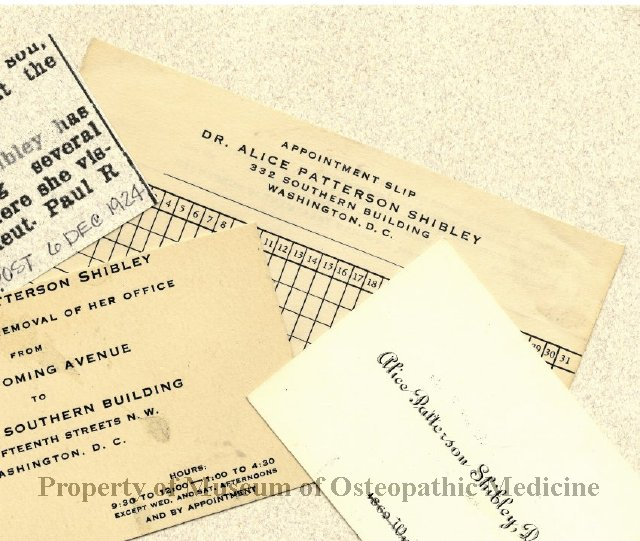 2013 21 appointment slip for office of alice patterson shibley