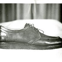 Image of 1993.52 - Photograph of Leather Shoe