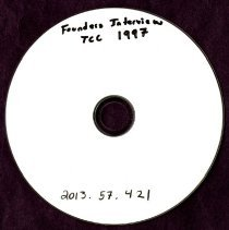 Image of 2013.57 - Founder's Day Interviews at TCC