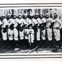Image of 2014.21 - Osteopaths Baseball Team Postcard
